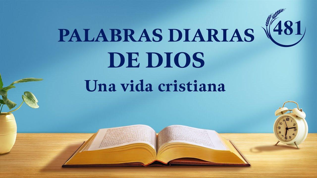 """Palabras diarias de Dios   Fragmento 481   """"El éxito o el fracaso dependen de la senda que el hombre camine"""""""