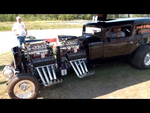8 хот-родов с двумя двигателями | Hot Rod With Two Engines