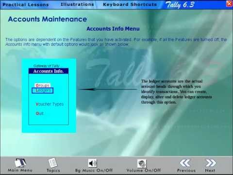 Learn Tally 6 3 - Voucher Entry, Inventory Management, VAT, Journal, Pay  Slip, Company Creation