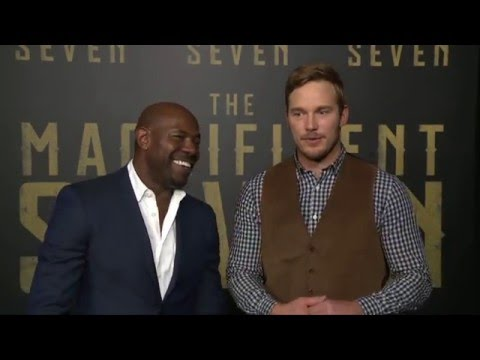 The Magnificent Seven: Antoine Fuqua & Chris Pratt Official Premiere Interview