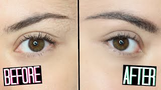 EYEBROW TUTORIAL| DIY PERFECT EYEBROWS IN 5 STEP! MAKEUP BASICS #1| Adriana Spink