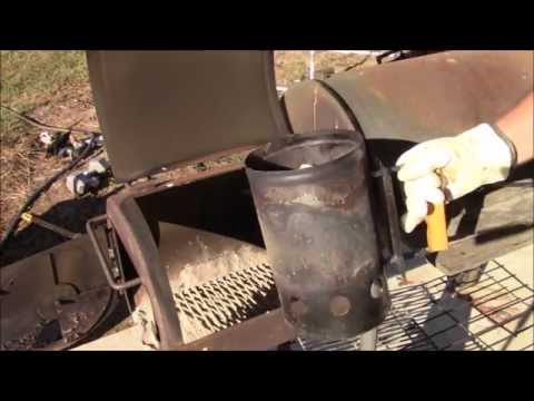 How to use a offset smoker