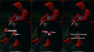 Ennoda Nesam 💞 Pogathadi En Penne 💞 Tamil Album Song 💞 Full Screen 💞 Whatsapp Status 💞