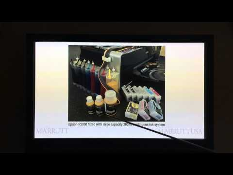 Inkjet Printing Masterclass Lesson 2 Pt 2 - Professional Photographic Ink Essentials - Pt 2