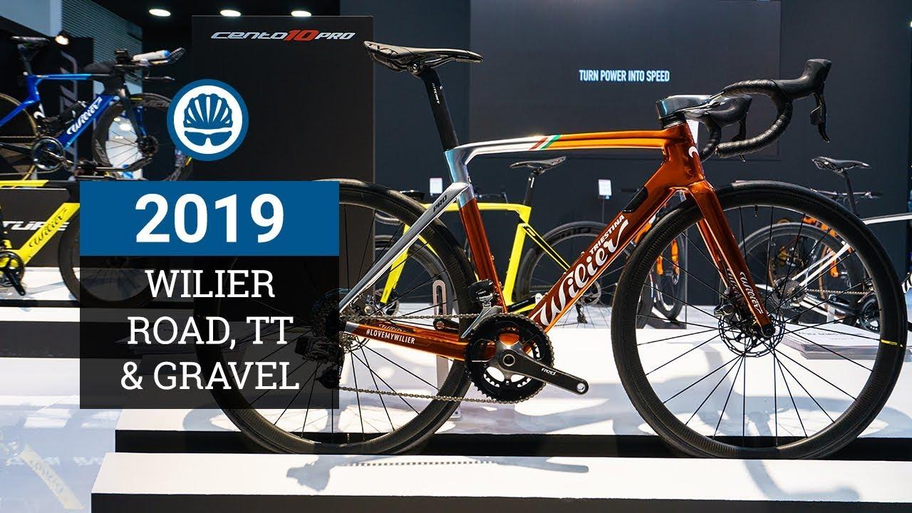 b82be0843fc Wilier Triestina 2019 - Cento10 Pro Disc, Turbine TT & Carbon Gravel Bike