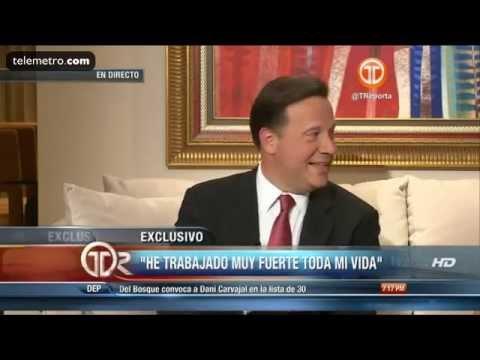 Entrevista del Presidente Electo Juan Carlos Varela y Lorena Castillo Parte 2