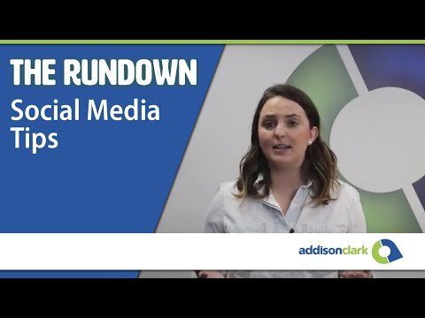 The Rundown: Social Media Tips