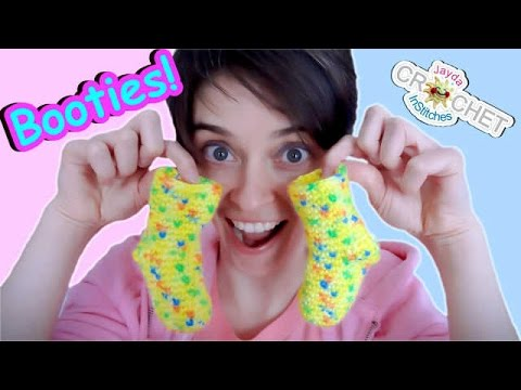 Crochet Baby Booties, Socks or Slippers