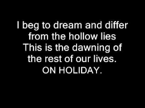 Green Day - Holiday (lyrics) Paroles