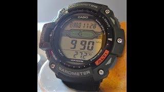 Casio SGW-300H Protrek Poderoso