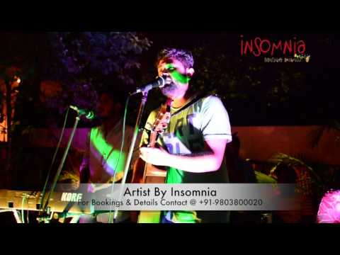 Dhruv Angrish Live & Loud at Ludhiana. Artist by Insomnia