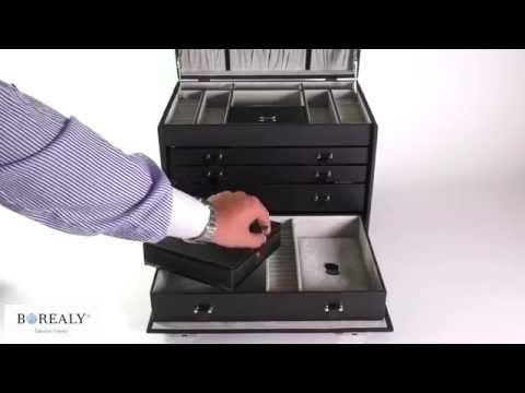 Premium Luxury Jewelry Case colectia Copenhagen by Friederich - Made in Germany