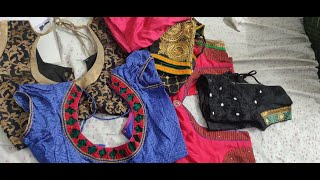 Fancy or Designer Blouse Designs Collection |Happy Space Blouse Designs|బ్లౌజ్ designs
