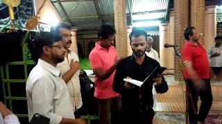 1st Day Anjuman  Of this Program Anjuman Mirajul islam | Lucknow | Karbala |Anjumnae E Raza E Husain
