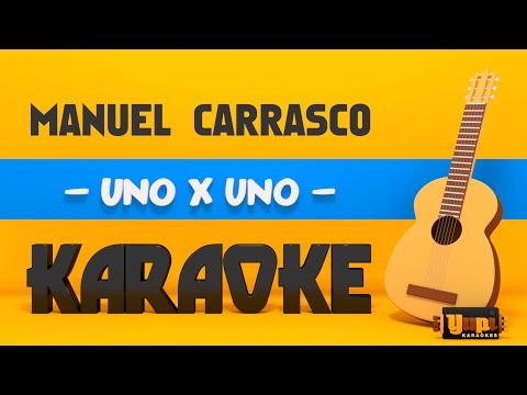Manuel Carrasco - Uno x uno (Karaoke Acústico)