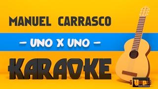 Baixar Manuel Carrasco - Uno x uno (Karaoke Acústico)