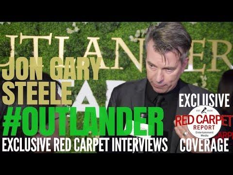 Jon Gary Steele, Production Designer interviewed at #Outlander on #Starz #OutlanderFYC Event