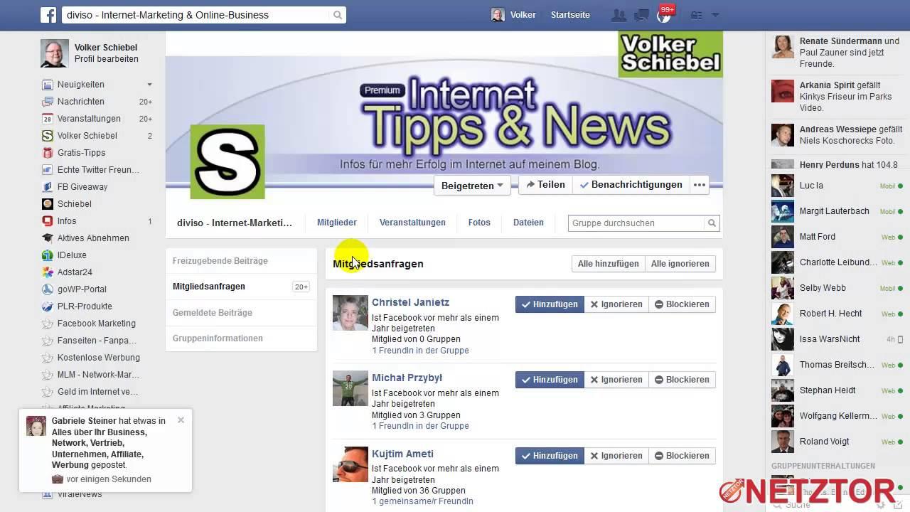 Facebook Geheime Gruppe Finden