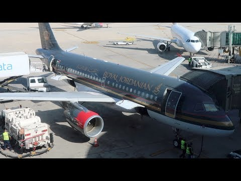Royal Jordanian Business Class from Amman to Rome