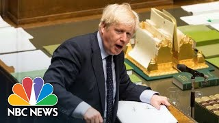 PM Boris Johnson Loses Majority As Lawmaker Quits During His Statements | NBC News