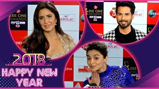 Katrina Kaif, Shahid Kapoor, Alia Bhatt , Bollywood Celebs New Year Wishes