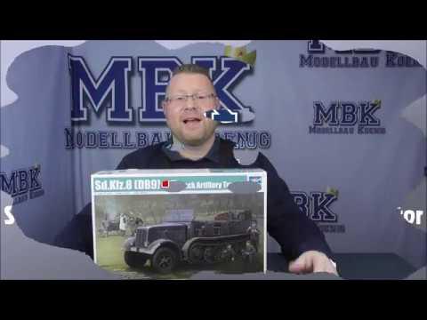 Trumpeter 1:35 DB9 Half-Track Artillery Tractor Sd.Kfz.8