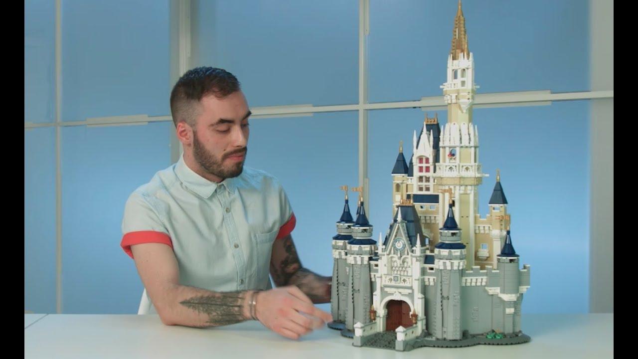 The Disney Castle Lego 71040 Designer Video Youtube