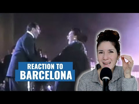 "Vocal Coach Reacts to Freddie Mercury & Montserrat Caballé in ""Barcelona"""