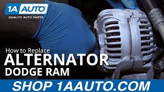 how to install replace alternator 2003 08 dodge ram 5 7l buy quality auto parts at 1aauto com