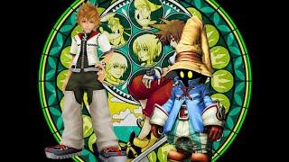 Kingdom Hearts 2 Final Mix - Vs Vivi Struggle Battle