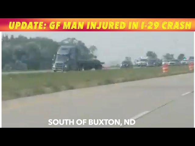 Grand Forks Man Injured In I-29 Crash