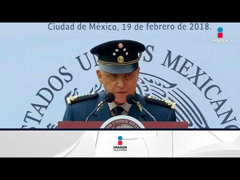Salvador Cienfuegos se disculpa por el accidente | Noticias con Yuriria Sierra