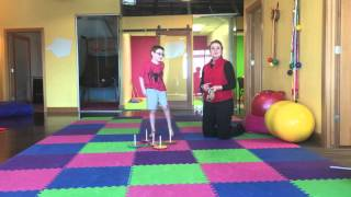 Hand-Eye Coordination Ring Toss Activity for Handwriting and Fine Motor Development