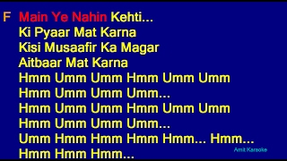 Pardesi Pardesi Udit Narayan Alka Yagnik Sapna Awasthi Hindi Full Karaoke With Lyrics