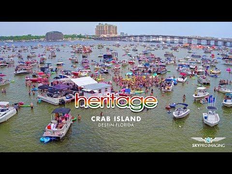 Crab Island Destin Florida : July 4 weekend 2017 : Heritage : Sky Pro Imaging