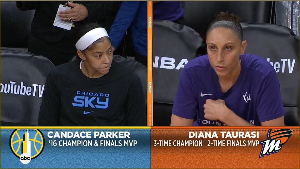 Download FULL PLAYOFF BASKETBALL GAME, WNBA FINALS GAME 1: Chicago Sky @ Phoenix Mercury   October 10, 2021