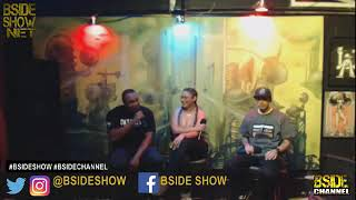 "Reime Schemes on the ""BSIDE"" Show talking RHYMAGEDDON."