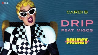 Cardi B - Drip feat. Migos (Lyrics Karaoke)