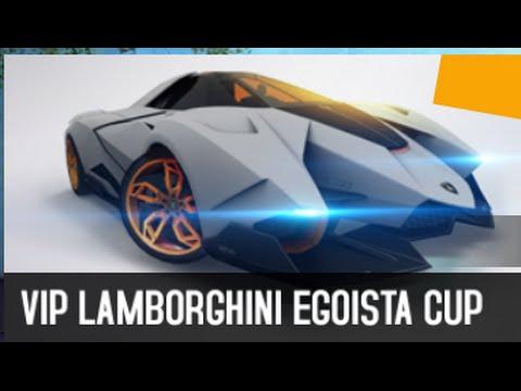 Vip Lamborghini Egoista 59 070 Asphalt 8 Youtube