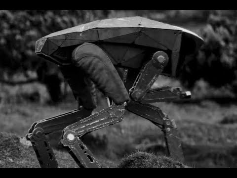 Black Mirror Metalhead Vfx Breakdown Dneg Youtube