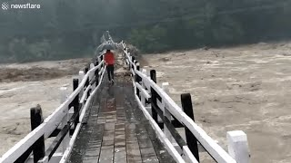 Extremely Scary & Dangerous Bridges....NOPE NOPE NOPE!