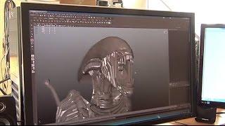 3D-Textur-Fotografie – Technologie 3D