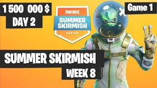 Fortnite Summer Skirmish Week 8 Day 2 Game 1 Highlights PAX WEST
