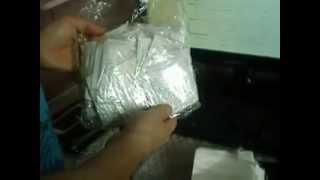 Посылка из Китая - Китайские пластыри для стоп ( Выводят токсины из организма)(, 2014-03-28T16:06:05.000Z)