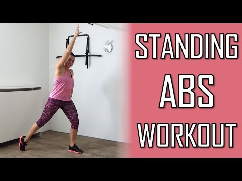 10 Minute Standing Abs Workout – Standing Abs Exercises To Lose Belly Fat – At Home