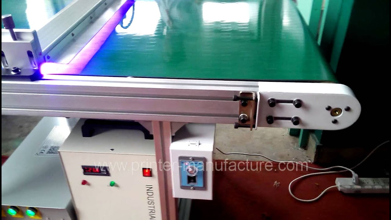 Led Uv Curing Machine With Water Cooling System