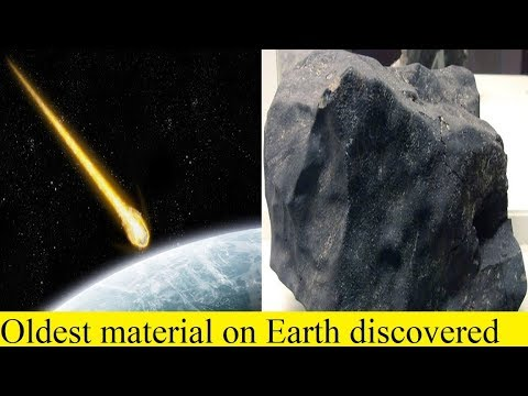 Oldest material on Earth discovered