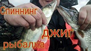 Рыбалка на спиннинг на джиг река ница ловля с лодки рыбалка на щуку щука в ноябре приманки релакс
