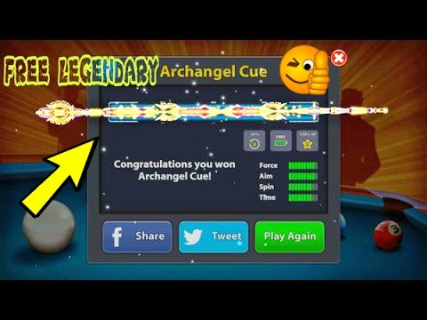 LEGENDARY ARCHANGEL CUE MOD UPDATED No Root |100% Working 2017| ANDROID/IOS -8 Ball Pool