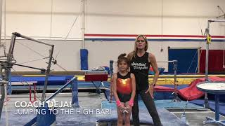 How to jump to the high bar in gymnastics! Conquer your fears with these drills from a professional